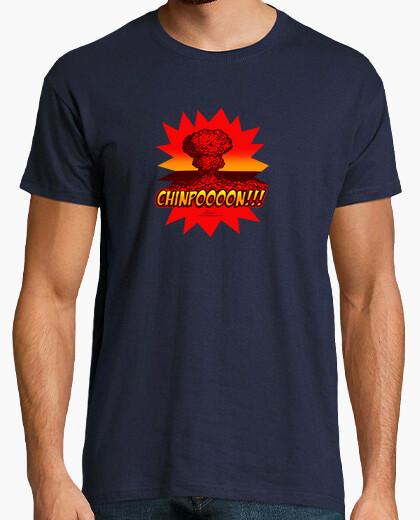 Tee-shirt chinpoooon !! denim / enfant