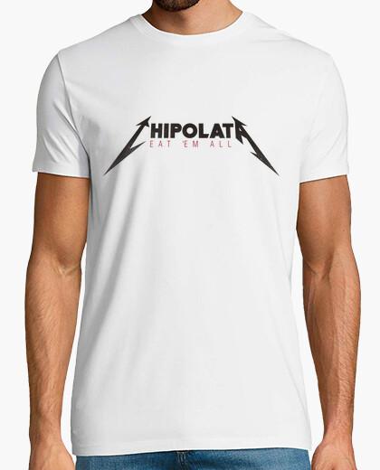 Camiseta chipolata - comer em todo (metallica)