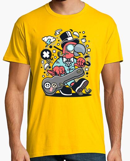 T-shirt chitarra d39uccello