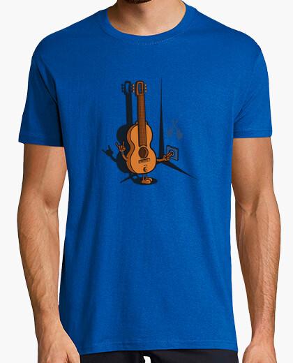 T-shirt chitarra elettrica