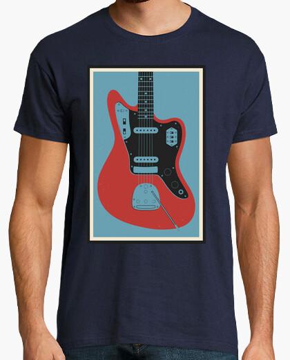 T-shirt chitarra jaguar