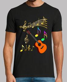 chitarra not come musica les