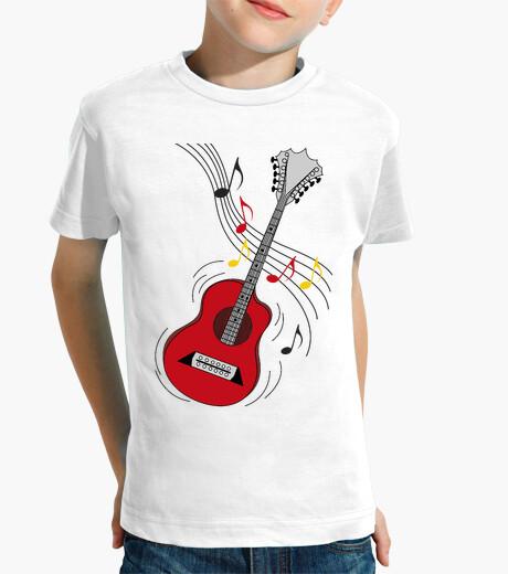 Abbigliamento bambino chitarra rock divertente