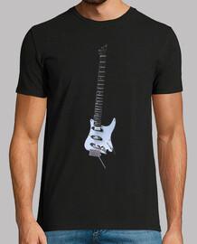 chitarra sagome elle ctrica più stringh