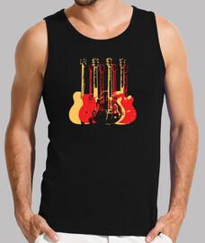 chitarre colorate moderne