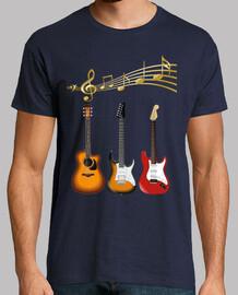 chitarre stru men musica tosse les