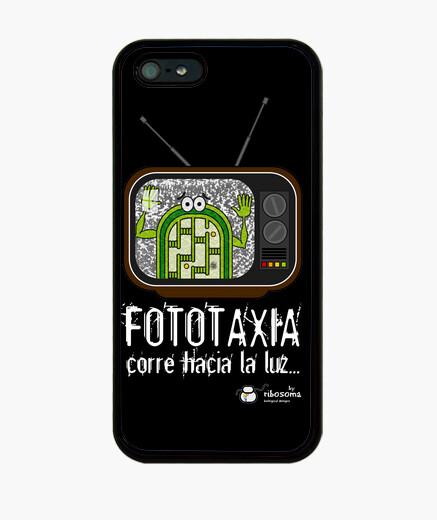 Coque iPhone chloroplaste phototaxie poltergeist