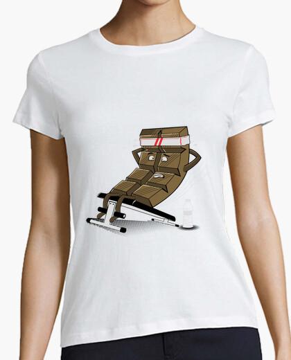 Tee-shirt choco abdominale