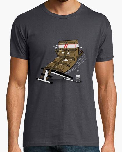 T-shirt choco addominale