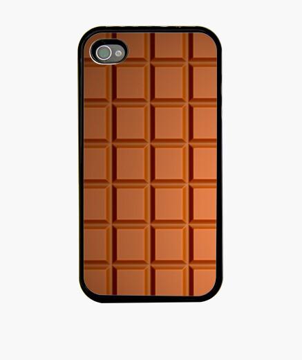 Coque iPhone chocolat