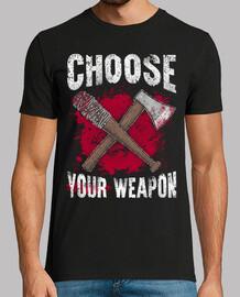 choisissez votre arme