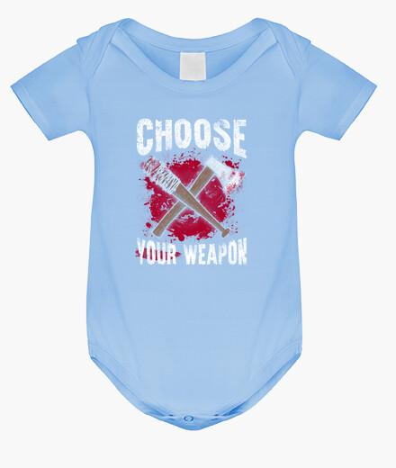 Ropa infantil Choose your weapon