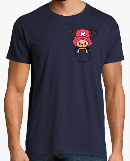 Tee-shirt Chopper dans une poche