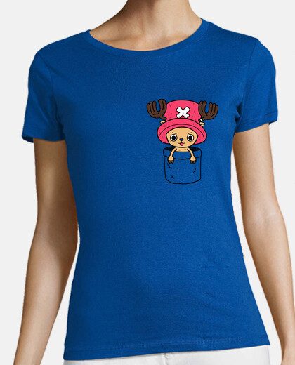 Chopper in a pocket camiseta chica