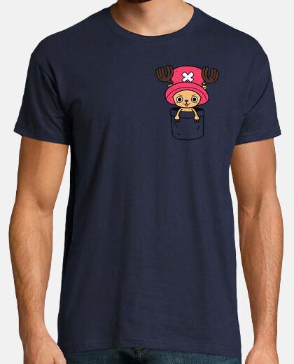 chopper in una pocket t-shirt da uomo
