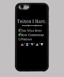 choses que je déteste