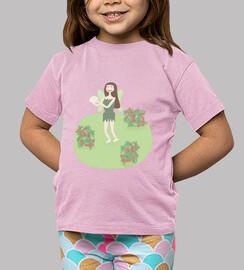 chou-fleur fée: t-shirt enfant