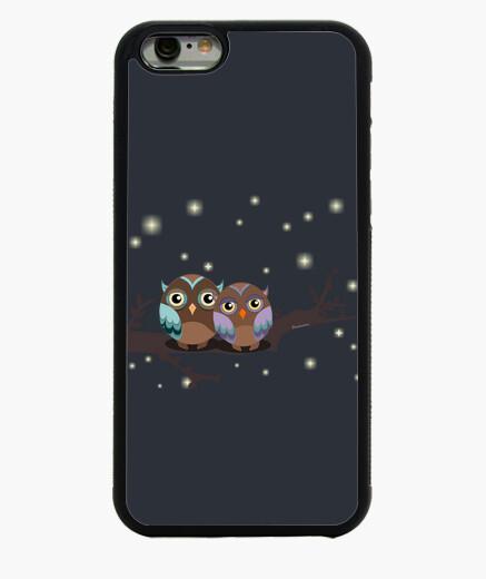 Coque Iphone 6 / 6S chouettes dans l39 amoureux kawaii