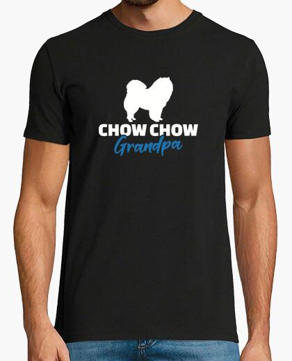 Camiseta chow chow abuelo