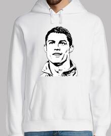 Christian Ronaldo sfondo bianco