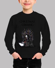 Christmas is coming Boy t-shirt