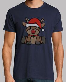 christmas reindeer knit 1