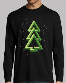 christmas tree - fir - optical effect