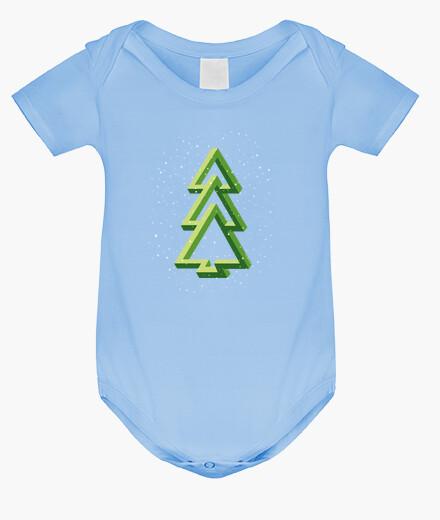 Christmas tree - fir tree - optical eff kids clothes