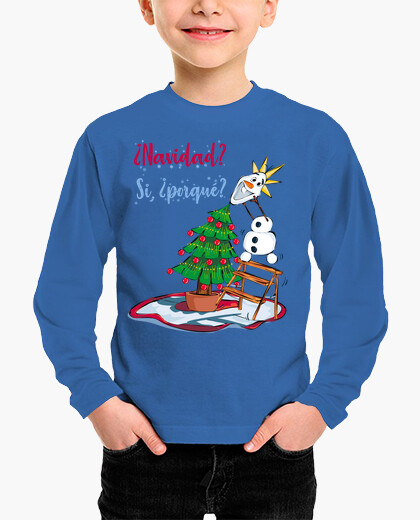 Christmas with snowman children's clothes