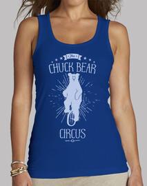 Chuck Bear chiara ES Camiseta de corte largo Mujer Blue