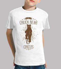 Chuck Bear ES T-shirt Nino Blanca