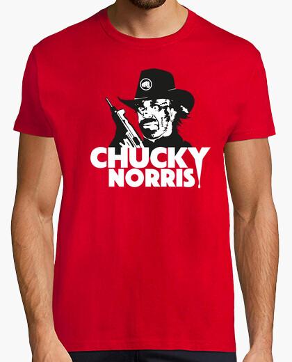 Chucky norris t-shirt