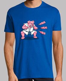 chuletas de cerdo camisa para hombre