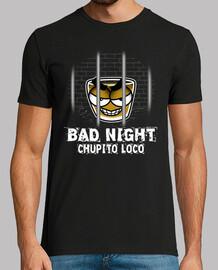Chupito Loco Bad Night Chico Manga Corta