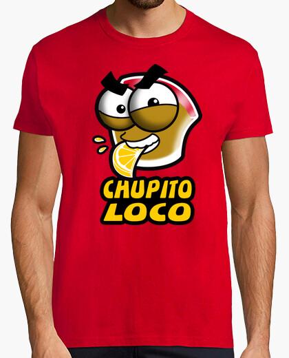 Camiseta Chupito Loco Logo Chico Manga Corta