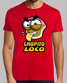 Chupito Loco Logo Chico Manga Corta