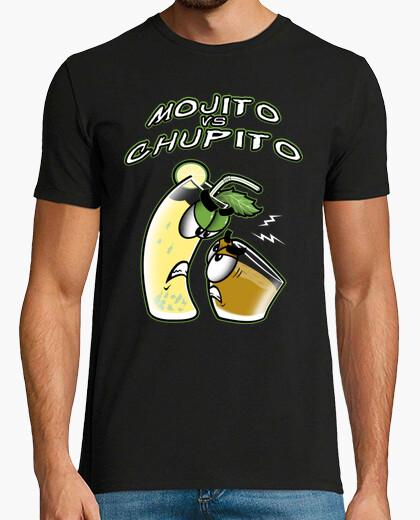 Camiseta Chupito Loco Mojito Vs Chupito Chico Manga Corta