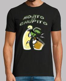 Chupito Loco Mojito Vs Chupito Chico Manga Corta