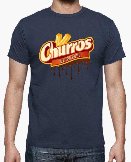 Camiseta CHURROS CON CHOCOLATE