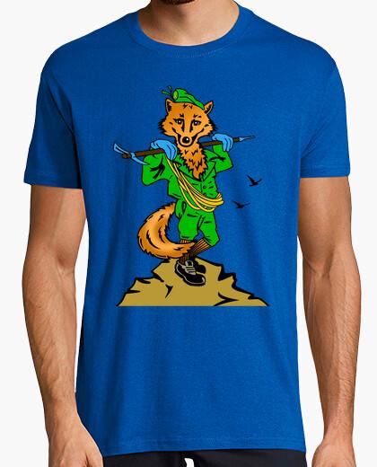 Tee-shirt cia  tee shirt . ee renard apprivoisé mod.1