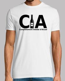 CIA complètement imbibé d'alcool