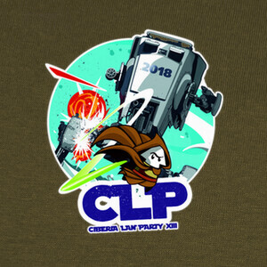Camisetas ciberia lan party 2018