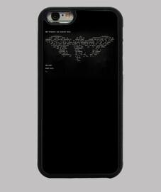 CICADA3301 Funda iPhone 6, negra