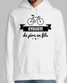 ciclista de padre a hijo