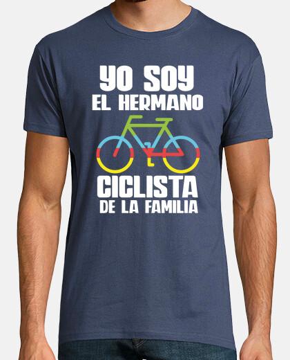 ciclista famiglia fratello