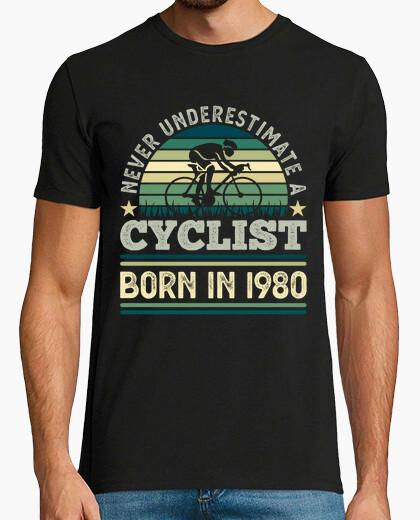 Camiseta ciclista nacido en 1980 40...