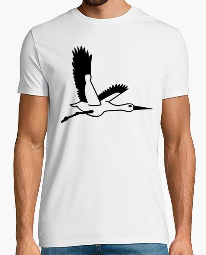 T-shirt cicogna