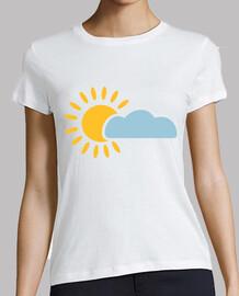 cielo nuvola sole