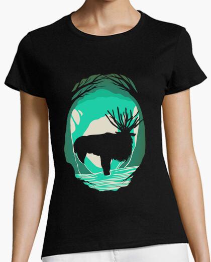 Camiseta ciervo espíritu princesa mononoke