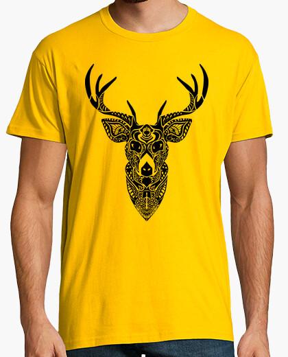 Camiseta Ciervo fractales